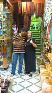 A vendor, whom Leyla has known since he was a small boy, tries to charm her into buying a bracelet