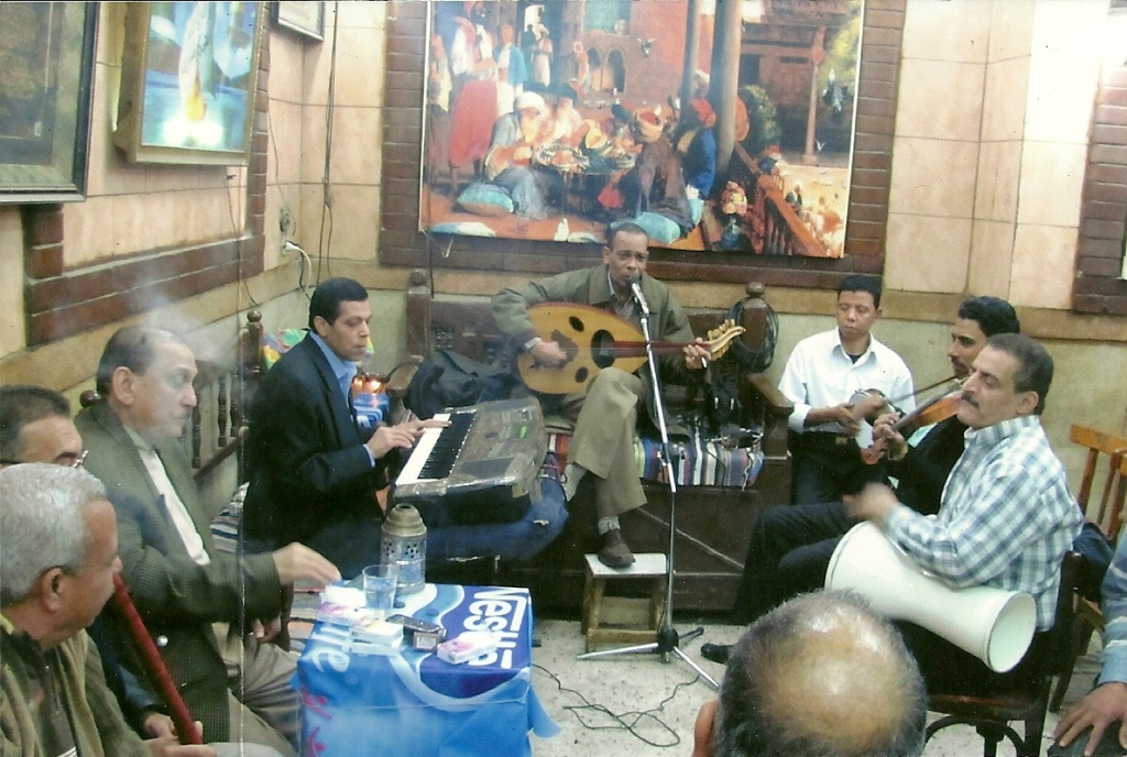 3. Musicians at the Café Darwiish