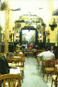 6. The famous El Fishawi coffee house, in the Khan el Khalili souq