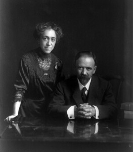 Presidente Madero and his wife