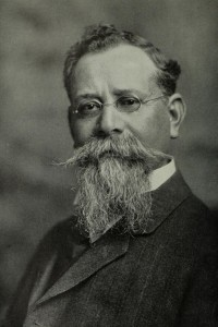 A portrait of Venustiano Carranza