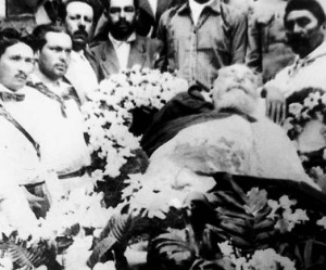 the funeral of Venustiano Carranza