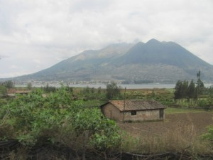 Scenery on the way to Otavalo