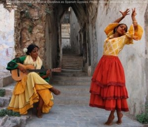 Gypsy dancers in Spain